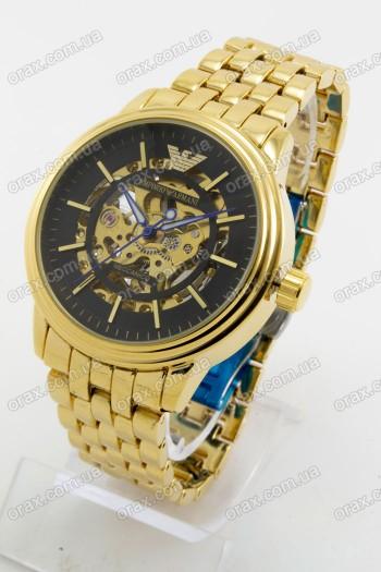 Механические наручные часы Emporio Armani (код: 20399)