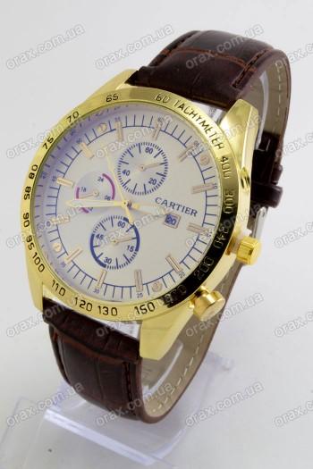 Мужские наручные часы Cartier (код: 20601)