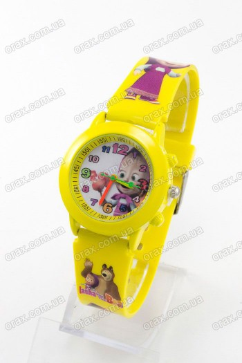 Купить Детские наручные часы Маша и Медведь (код: 13103)