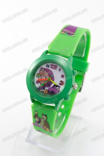 Купить Детские наручные часы Маша и Медведь (код: 13104)