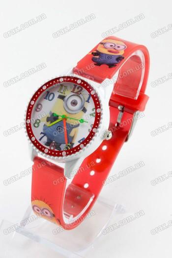 Купить Детские наручные часы Миньоны (код: 13272)