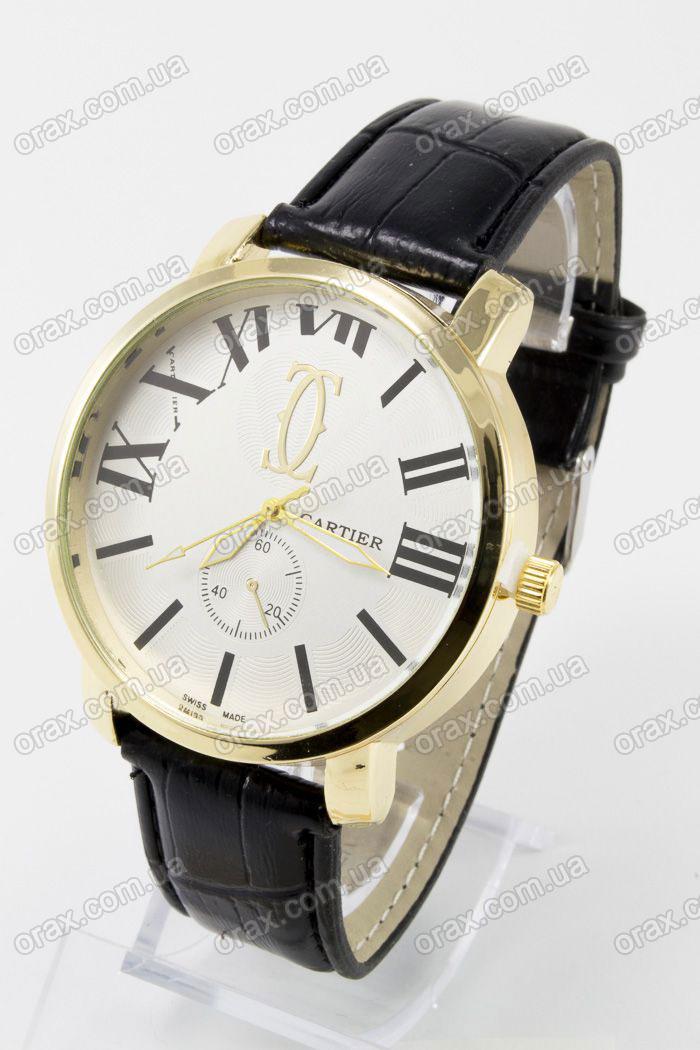 Купить  Наручные мужские часы Cartier (код: 13356)