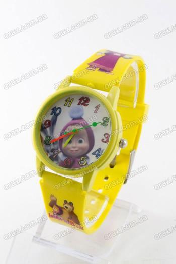 Купить Детские наручные часы Маша и Медведь (код: 13733)