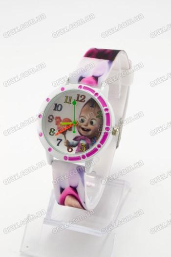 Купить Детские наручные часы Маша и Медведь (код: 16241)