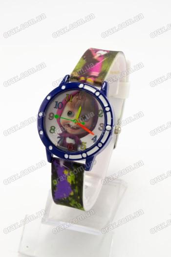 Купить Детские наручные часы Маша и Медведь (код: 16248)