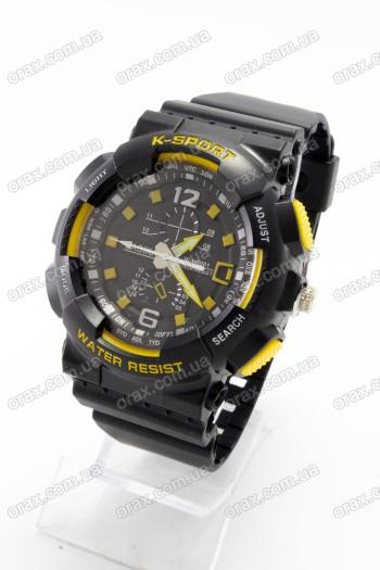 Купить Спортивные наручные часы Lasika K-Sport (код: 16627)