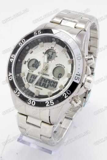 Купить Мужские наручные часы Quamer (код: 17002)