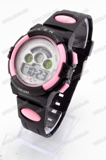 Спортивные наручные часы LSH (код: 17705)