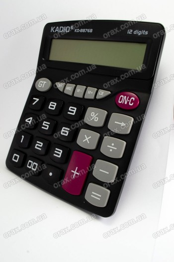 Настольные калькуляторы Kadio KD-8876B (код: 18144)