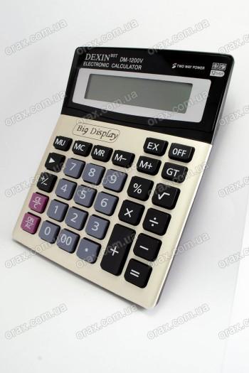 Купить Настольные калькуляторы Dexin DM-1200V (код: 18145)