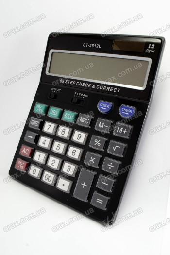 Настольные калькуляторы EC CT-5812L (код: 18148)