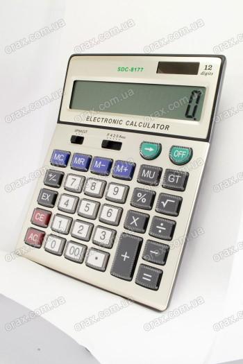Настольные калькуляторы EC SDC-8177 (код: 18153)