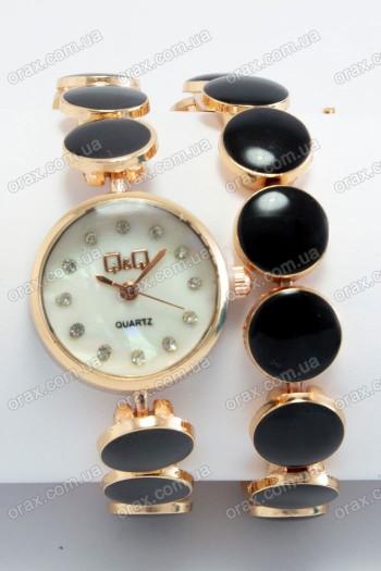 Женские наручные часы QQ  (код: 19476)